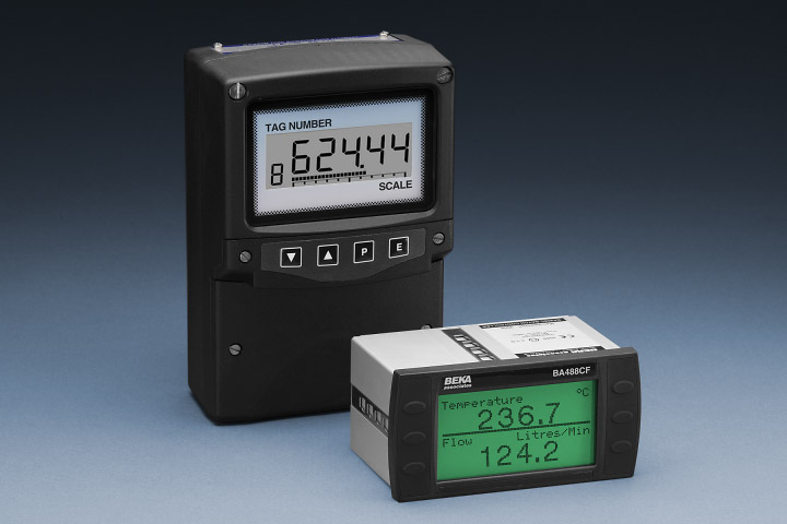 Fieldbus indicators and displays