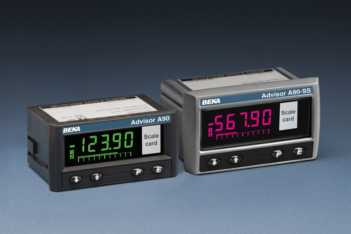Process panel meters, General purpose